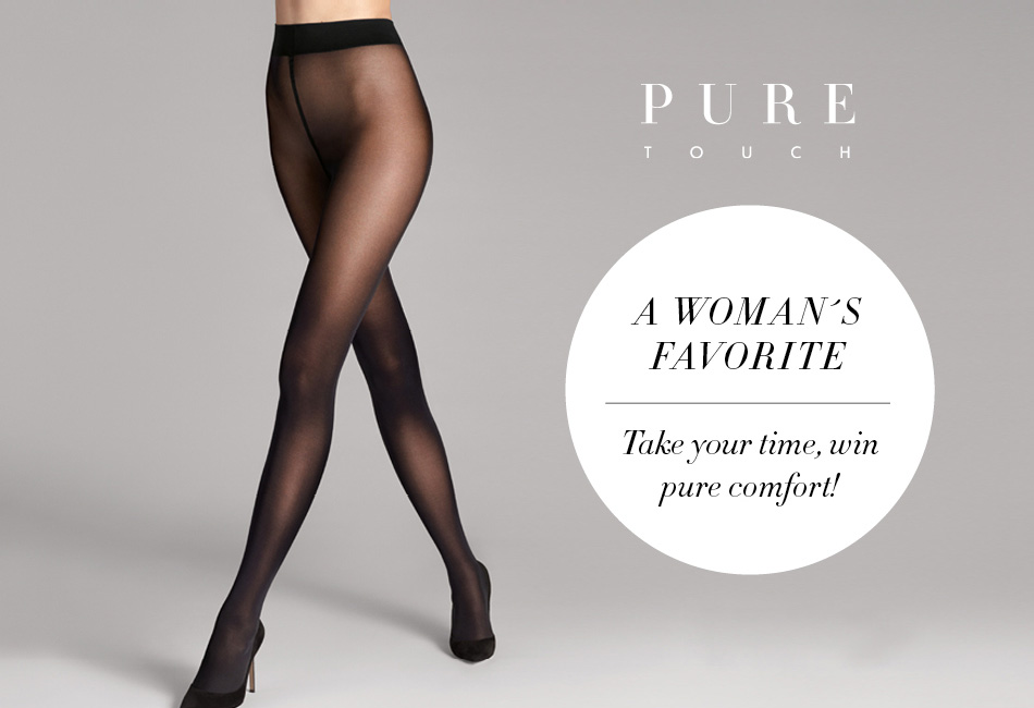 Wolford pure 50 touch tights